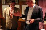 Hans Faas heeft voorzittershamer van VVD-BEL overgedragen aan Pieter Croockewit